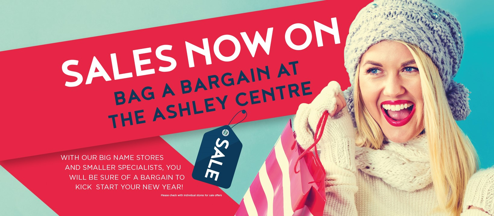 Sales at The Ashley Centre